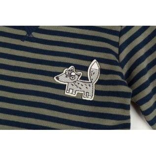 Sigikid Shirt lange mouw groen/blauw