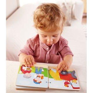 Haba Houten Babyboekje Tractor