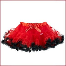 Souza for kids Elvira tutu, rood (4 jaar), rok lengte 25 cm