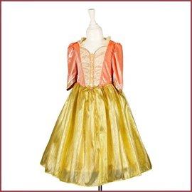 Souza for kids Marilise jurk, zalm-goud,