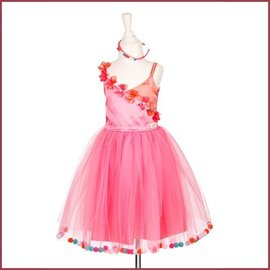 Souza for kids Alicia dress, pink with pompoms
