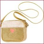 Souza for kids Tas Nora, goud glitter + nep-bont