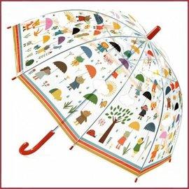 Djeco Paraplu In de regen
