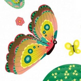 Djeco Raamstickers Vlinders in de tuin