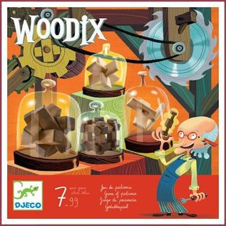 Djeco Houten Puzzels Woodix