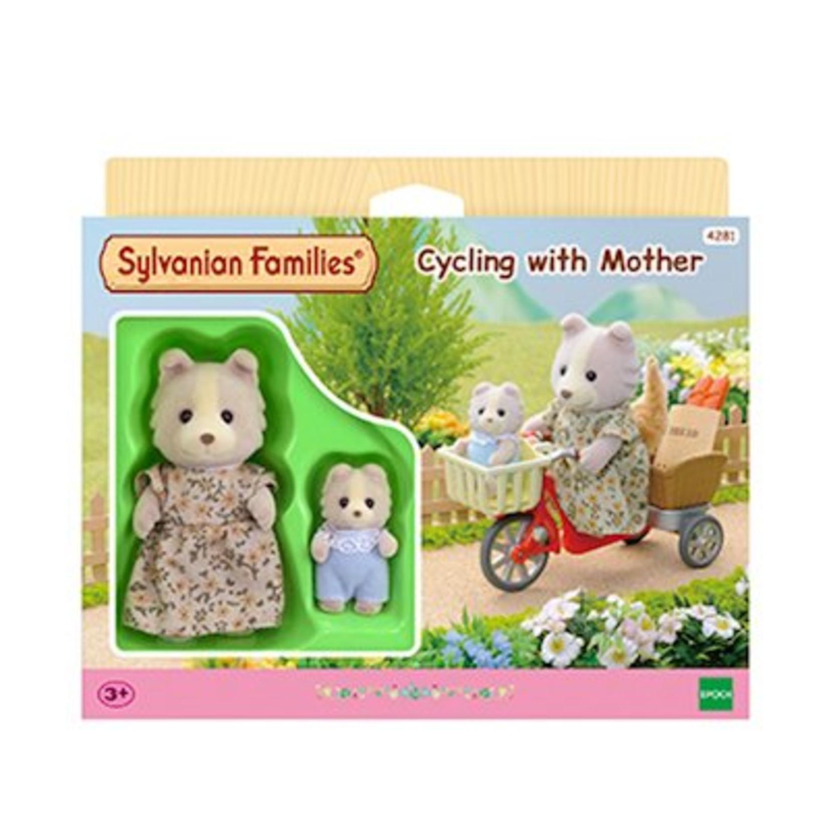 Sylvanian Families Fietsen met Mama