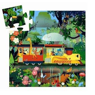 Djeco Puzzel de Locomotief 16 stukjes