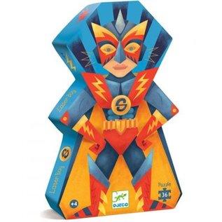 Djeco Puzzel Laser Boy 36 stukjes