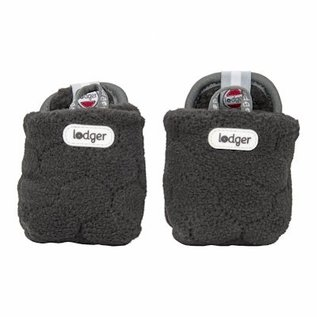 Lodger Slipper Raven Fleece Botanimal