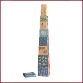 Egmont Toys Stapel piramide boerderijdieren