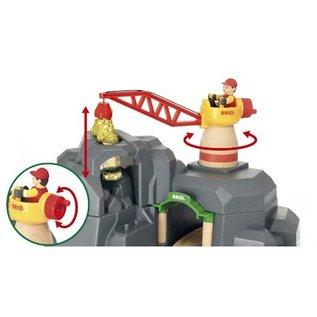 Brio Hijskraan en Bergtunnel