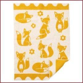 Klippan Wiegdeken Fox eco wol 65x90 cm