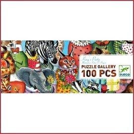 Djeco Puzzel King's Party 100 stuks