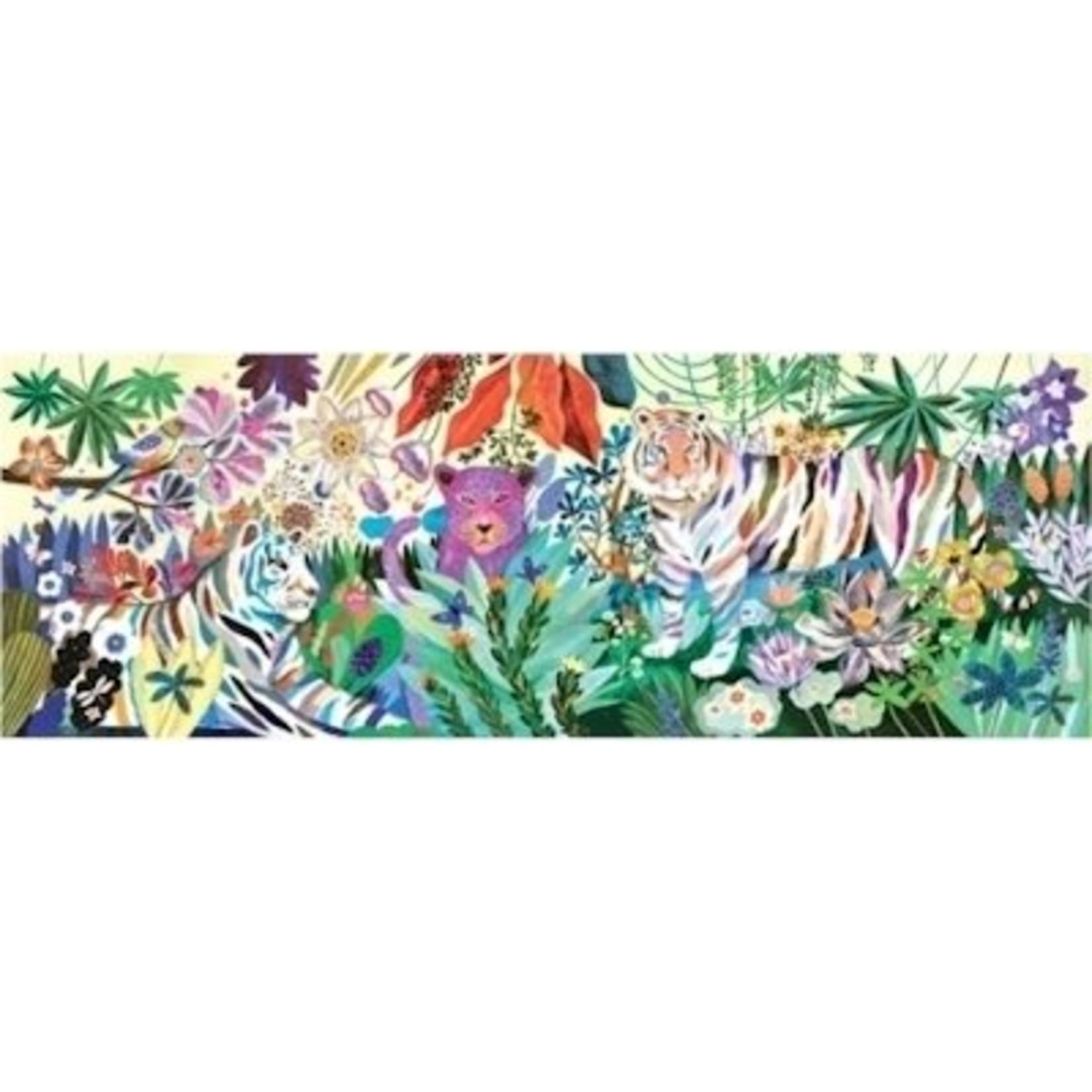 Djeco Gallerie Puzzel Regenboog Tijgers 1000 stukjes