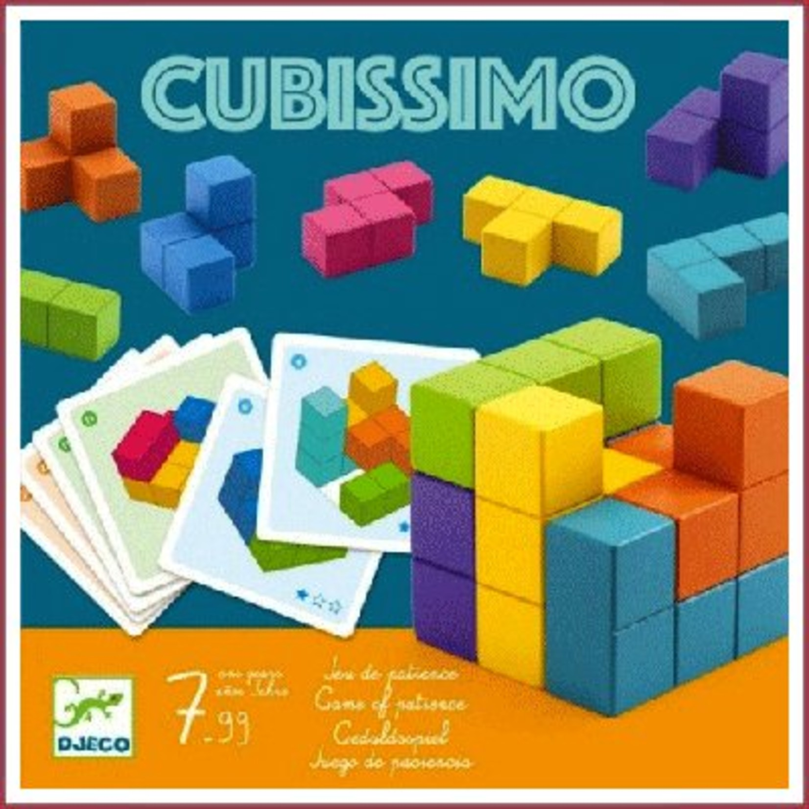 Djeco Denkspel Cubissimo
