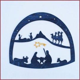 De Noest Raamhanger Kerstmis Klein