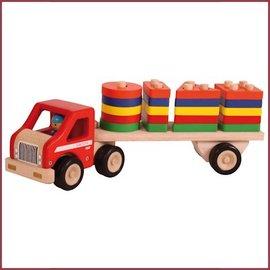 Santoys Truck met Geom. Vormplaten