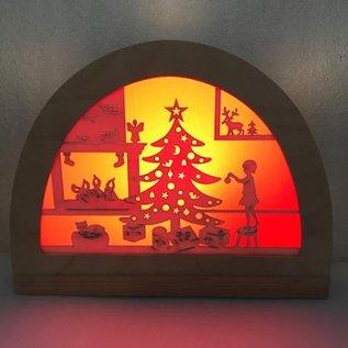 De Noest Silhouet Kerstfeest