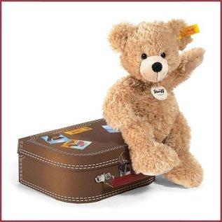 Steiff Teddybeer Fynn met koffer