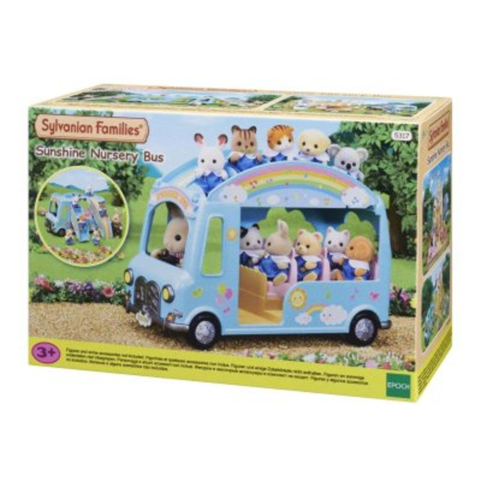 Sylvanian Families Regenboog Babybus