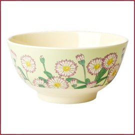 Rice Rice Bowl Small met Daisy Print