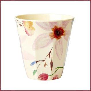 Rice Rice Cup Medium Selmas Flower Print