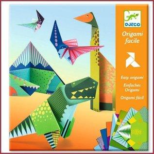 Djeco Origami Dinosaurussen