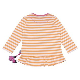 Sigikid T-shirt lange mouw baby mock orange