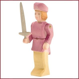 Ostheimer Edelman met zwaard