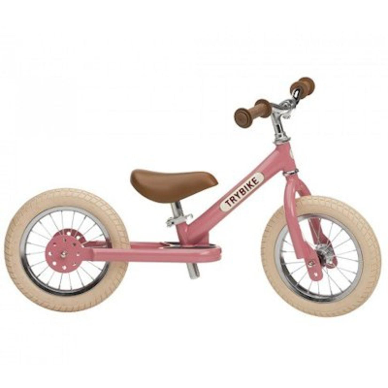 Trybike Trybike steel vintage loopfiets Pink