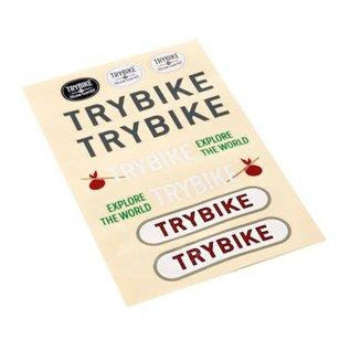 Trybike Trybike Vintage Loopfiets Pink