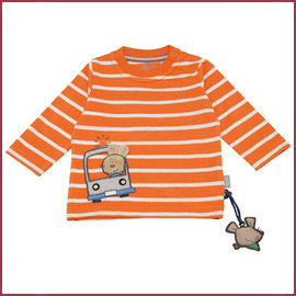Sigikid T-shirt lange mouw, Jaffa orange