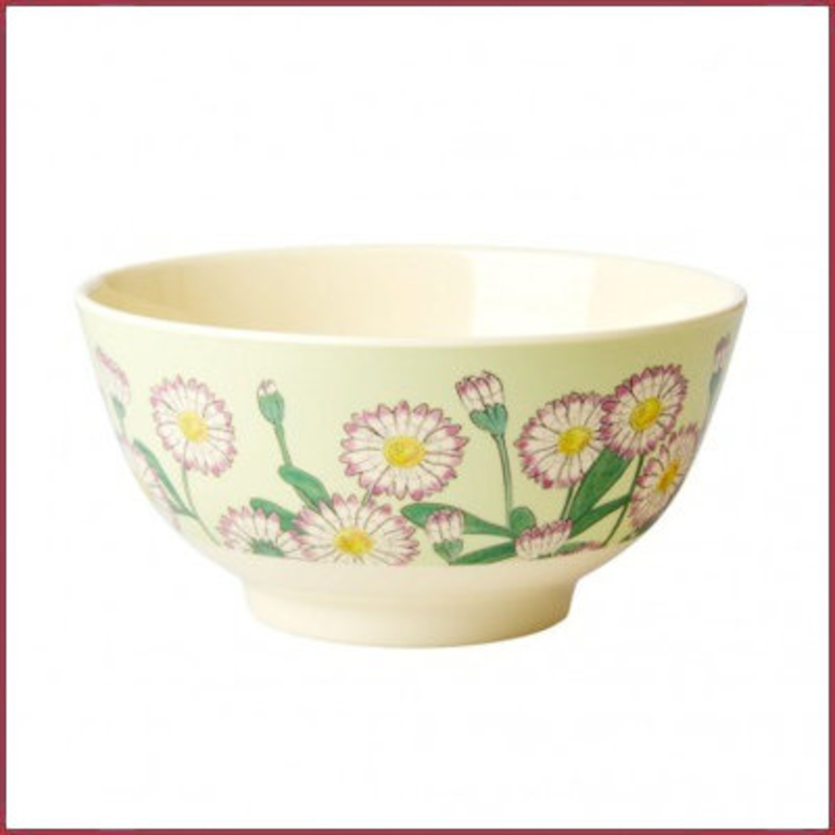 Rice Rice Bowl Medium - Daisy Print