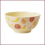 Rice Rice Bowl Medium - Happy Fruits Print