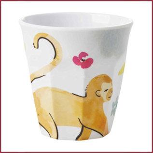 Rice Rice Cup Medium -  Monkey Print