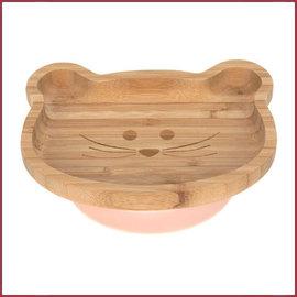 Lässig Bamboe houten eetbakje Little Chums