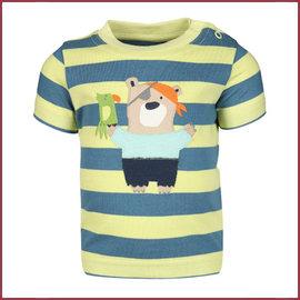 Sigikid T-Shirt baby blauw/zachtgroen