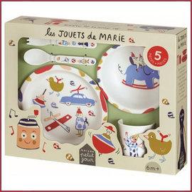 Petit Jours Paris Cadeauset serviesje - Het speelgoed van Marie