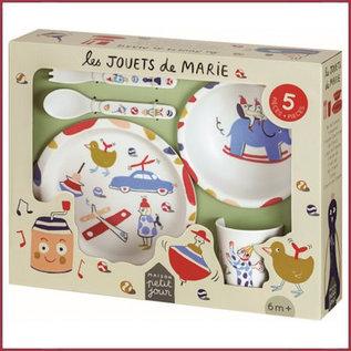 Cadeauset serviesje - Het speelgoed van Marie