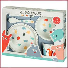 Petit Jours Paris Cadeauset serviesje Doudous