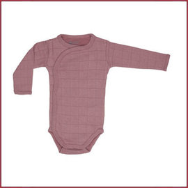 Lodger Romper Solid LS Plush