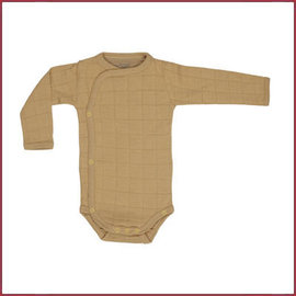 Lodger Romper Solid LS Honey