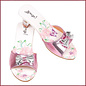 Souza for kids Slipper hoge hak Bindi, vlinder print roze