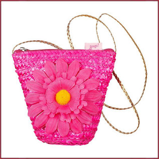 Souza for kids Tas Chiara, fuchsia met bloem