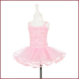Souza for kids Tutu jurk Sheila, roze met pailletten