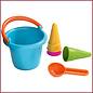 Haba Zandbakspeelgoed, set kleuteremmer met ijshoorntjes