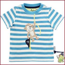Sigikid T-Shirt baby blauw/wit