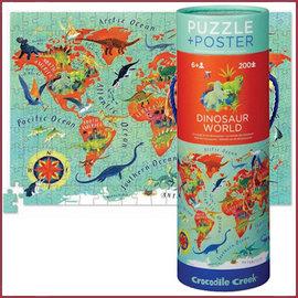 Crocodile Creek Poster en Puzzel / Dinosaurus wereld