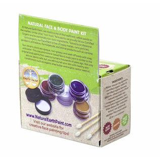 Natural Earth Paint Natural Earth Face paint kit - 6kl