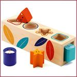 Djeco Houten vormen sorteerbox BoitaBasic